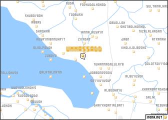 map of Umm as Sadd