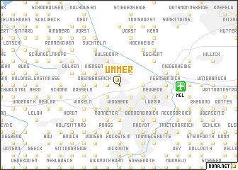 map of Ummer