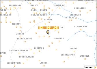 map of Umm Kawrah