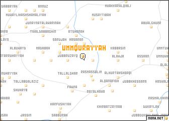 map of Umm Qurayyah