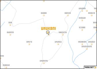 map of Umukani