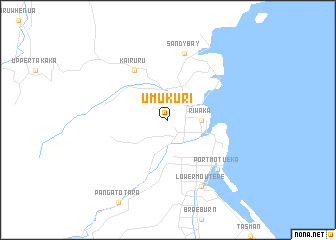 map of Umukuri
