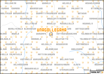 map of Unagollegama