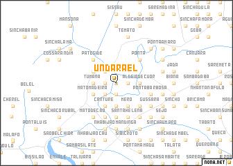 map of Undarael