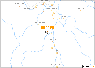 map of Undoro