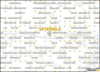 map of Unterahle