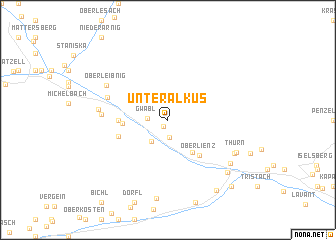 map of Unteralkus