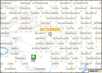 map of Unterauel
