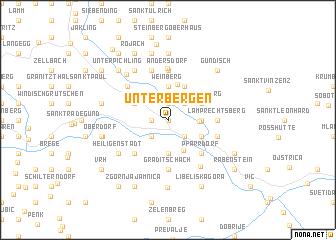 map of Unterbergen