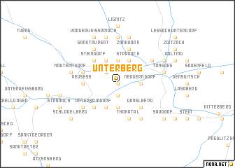 map of Unterberg