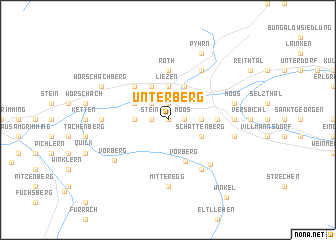 map of Unterberg