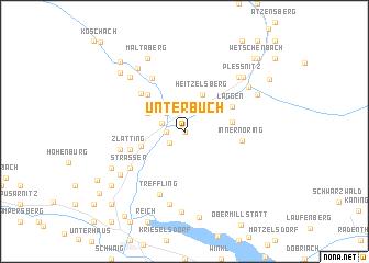 map of Unterbuch