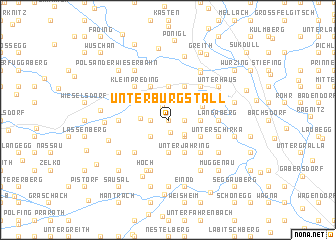 map of Unterburgstall