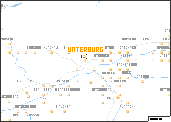 map of Unterburg