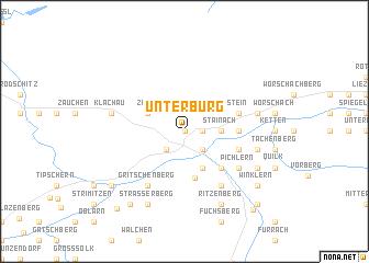 map of Unterburg