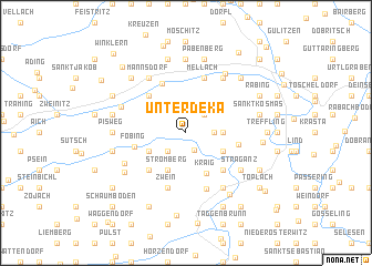 map of Unterdeka