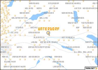 map of Unterdorf