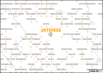 map of Unteregg
