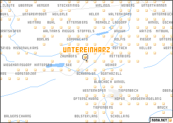 map of Untereinharz