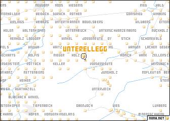 map of Unterellegg