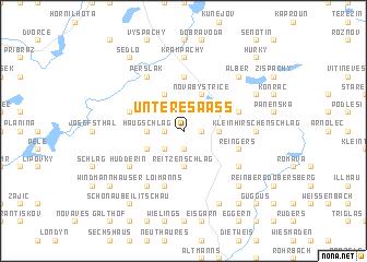 map of Untere Saaß