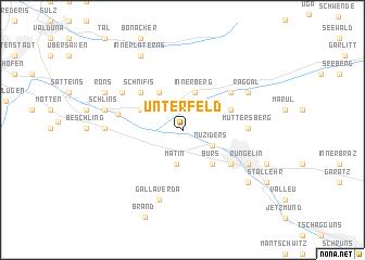 map of Unterfeld