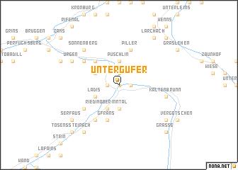 map of Untergufer