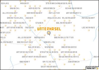map of Unterhasel