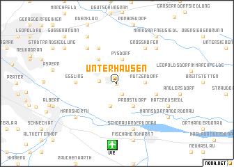 map of Unterhausen