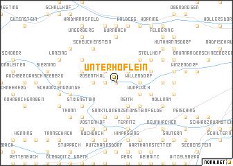 map of Unterhöflein