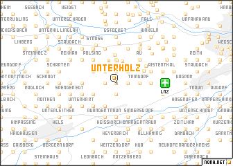 map of Unterholz