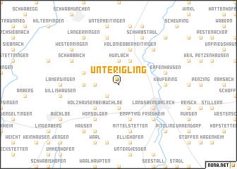map of Unterigling