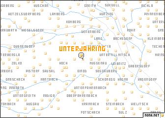 map of Unterjahring