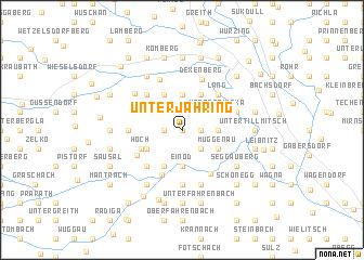 map of Unterjahring