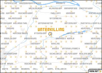 map of Unterkilling