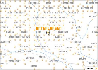 map of Unterlaasen