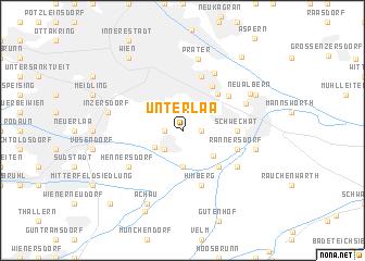 map of Unterlaa
