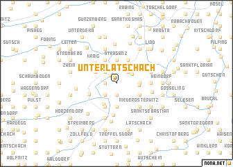 map of Unterlatschach