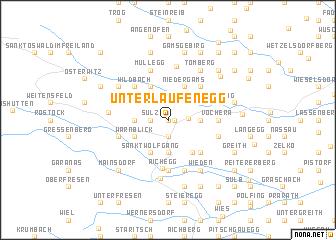 map of Unterlaufenegg
