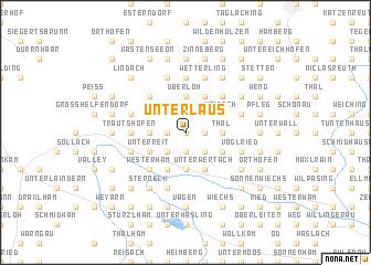 map of Unterlaus