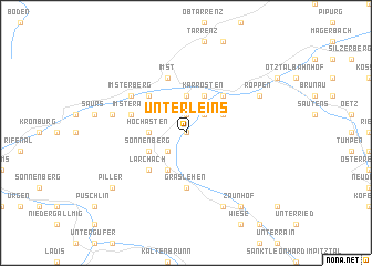 map of Unterleins