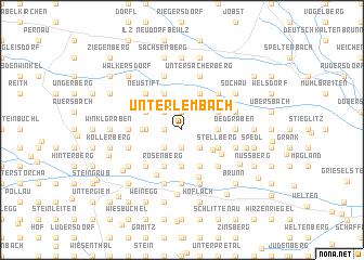 map of Unterlembach