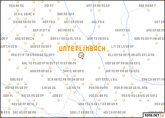 map of Unterlimbach