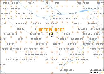 map of Unterlinden