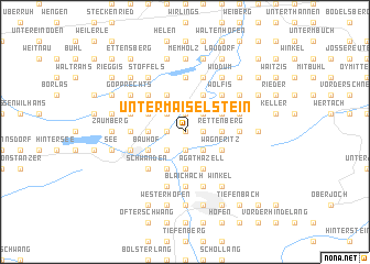 map of Untermaiselstein