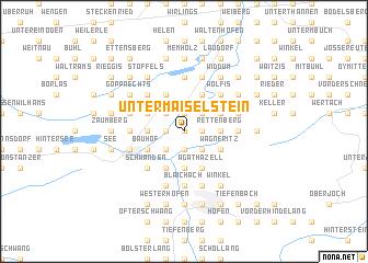 map of Untermaiselstein