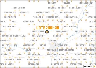 map of Untermamau