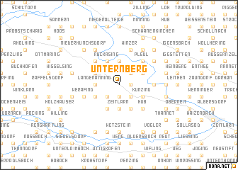 map of Unternberg