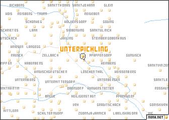 map of Unterpichling