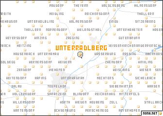 map of Unterradlberg